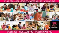 Amazing Teacher Awards 2015 - Poster