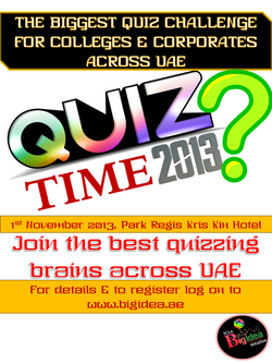Quiz Time 2013 - Poster