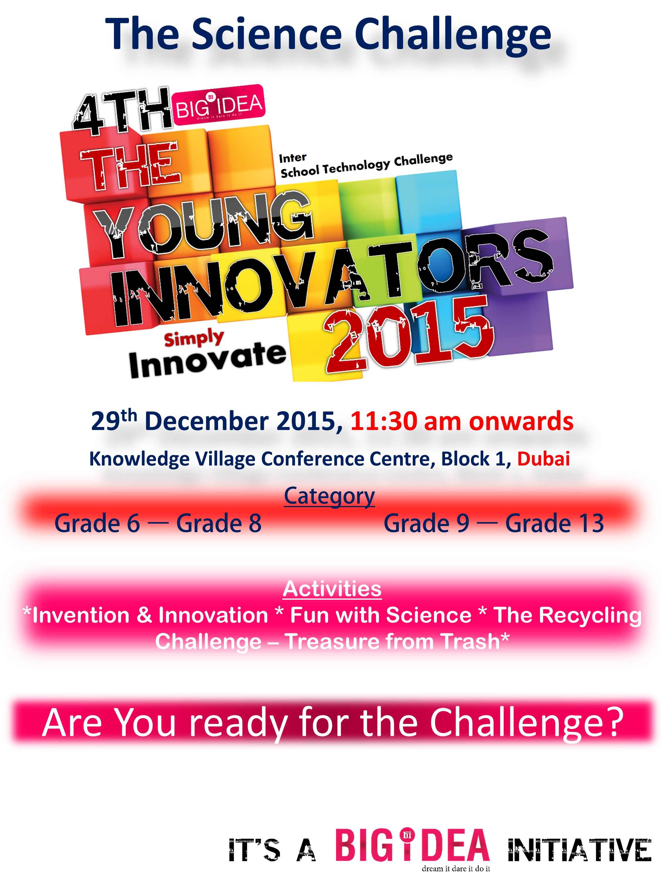 Young Innovators 2015 - Poster