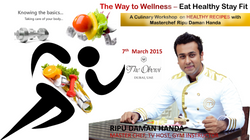 Masterchef Masterstrokes - Eat Healthy Stay Fit (Poster)