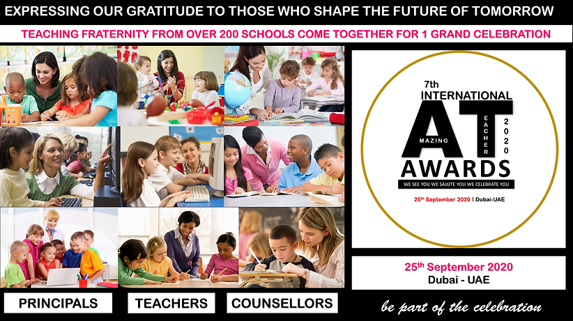 7th International Amazing Teacher Awards