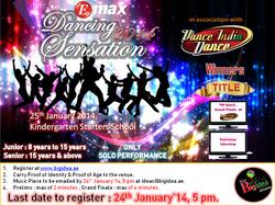 Dancing Sensation 2014 - Poster (Zee)