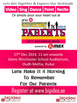 Amazing Parents 2014 - Poster