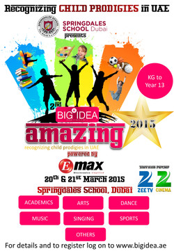 2nd Big Idea Amazing Stars 2015 - Poster