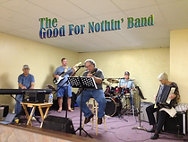 The Good for Nothin' Band CD artwork