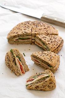 Pressed-Picnic-Sandwich-with-Black-Garli