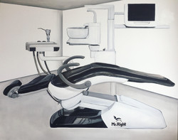 Submissive Dental Chair, 2019