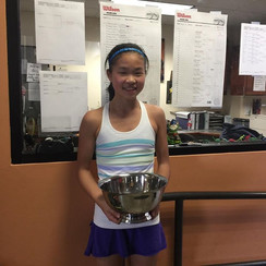 Xu wins National Tournament, Singles & Doubles