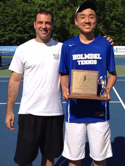 Chen Wins 2014 High School Singles Crown
