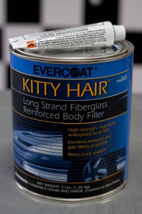 Evercoat Kitty Hair