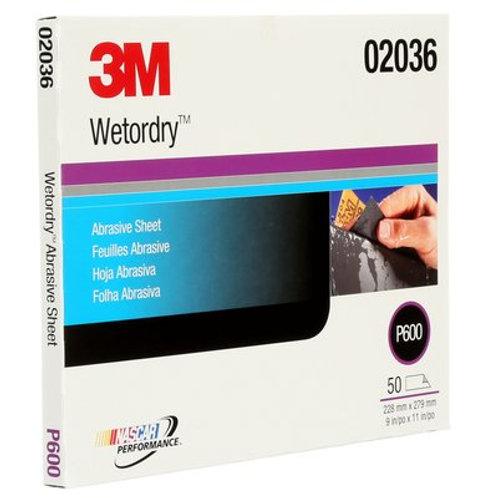3M™ Wetordry™ P600 Grit