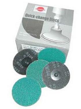 Sunmight 2″ 24 Grit Quick Change Sanding Discs