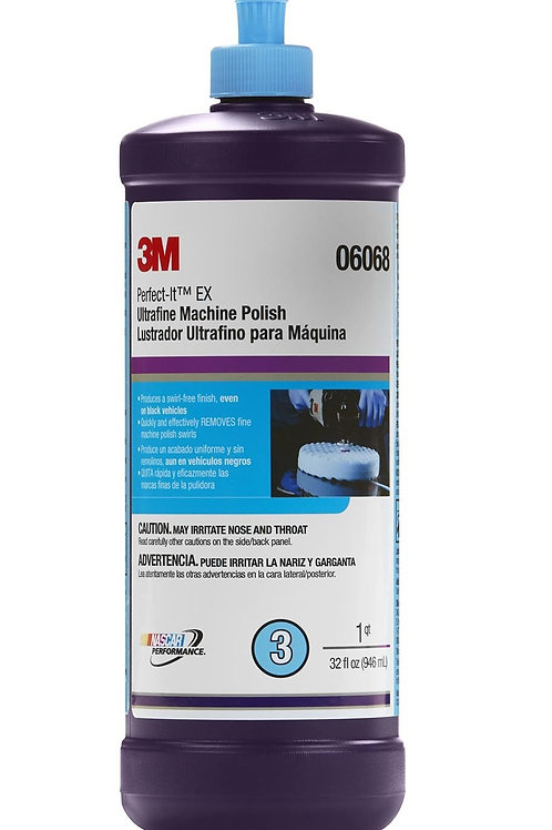 3M Ultrafine Machine Polish 06068
