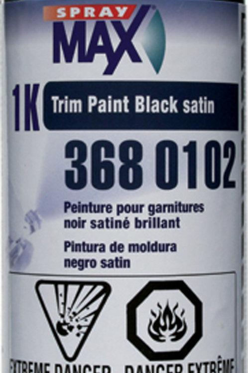 1k SprayMax Trim Paint Satin Black