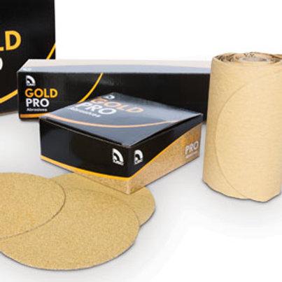 """USC 6"""" Velcro Gold Paper ( Grit P180 )"""