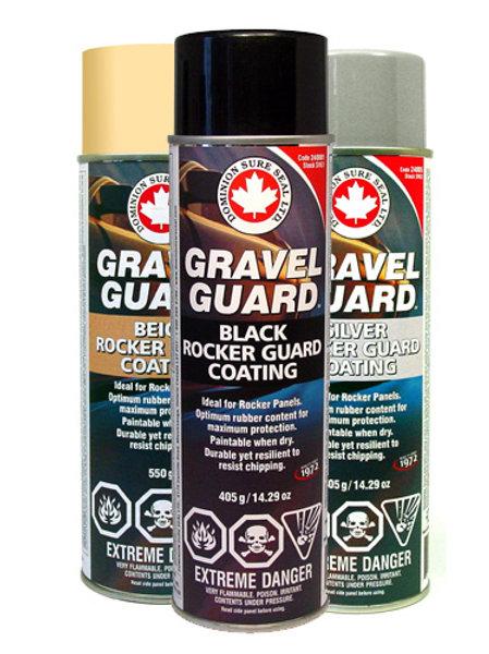 Dominion - Gravel Guard Rocker Guard Coating