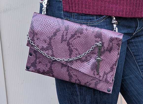 Purple Snake Skin