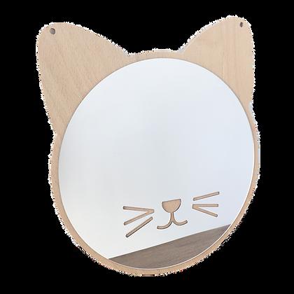 Zrcadlo kočka