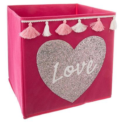 "Úložný box ""Love"""