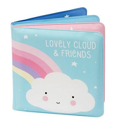 "Kniha do vany ""Lovely cloud & friends"""