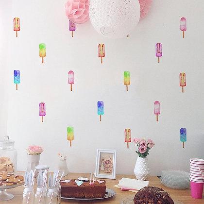 Samolepky na zeď  zmrzlina