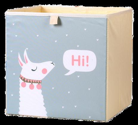 Úložný box alpaka, šedý