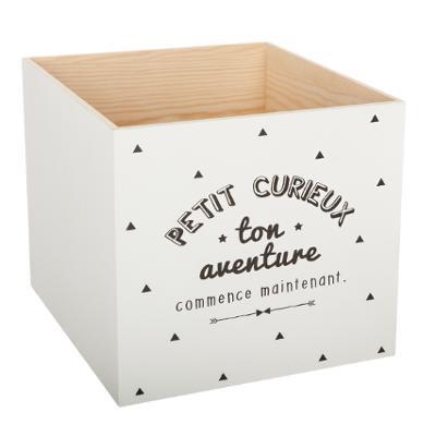 """Dřevěný box """"Petit curieux"""""""