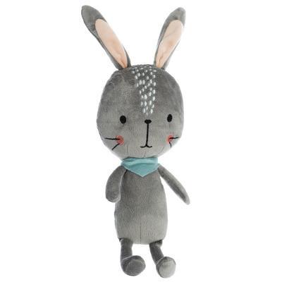 Plyšový králík, šedý