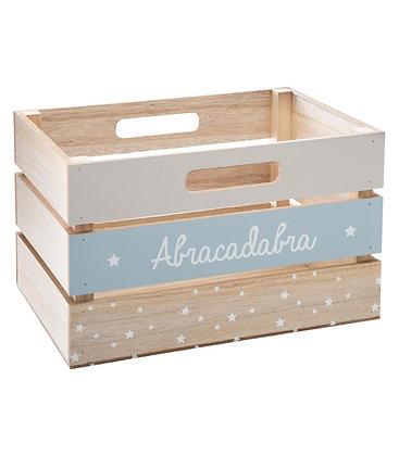"""Dřevěný box """"Abracadabra"""""""