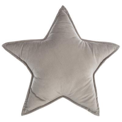 Polštář hvězda, šedý