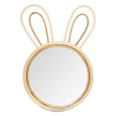 Bambusové zrcadlo králík