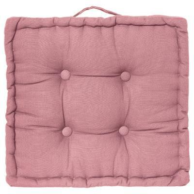 Polštář na podlahu růžový