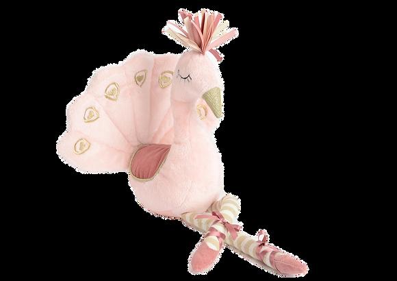 Růžový páv