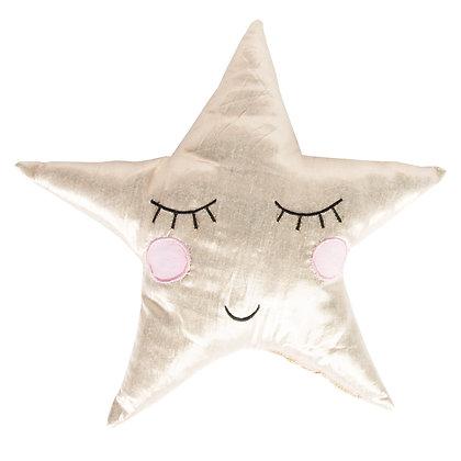 Polštář usmívající se hvězda
