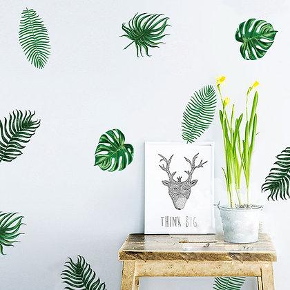 Samolepky na zeď  tropický les