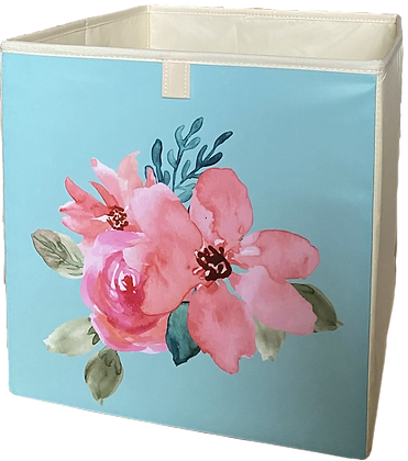 """Úložný box """"Ensemble de Fleurs"""""""