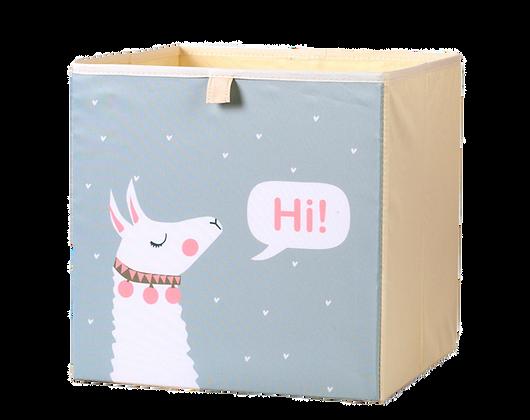 Úložný box alpaka, šedá