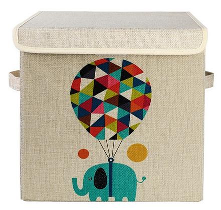 Úložný box s víkem slon