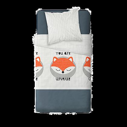 Povlečení na postel roztomilá liška