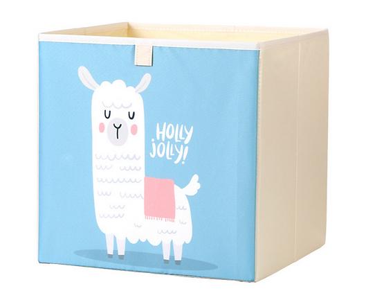 Úložný box alpaka, modrá