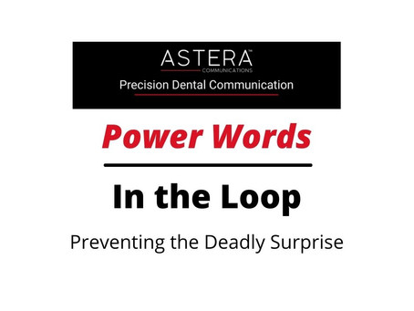 Preventing the Deadly Surprise/Keep Them in the Loop
