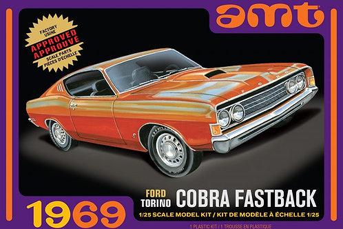 AMT 1969 Ford Torino Cobra Fastback