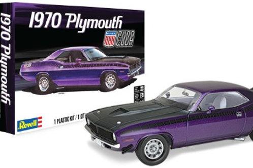 Revell 1970 Plymouth AAR 'Cuda