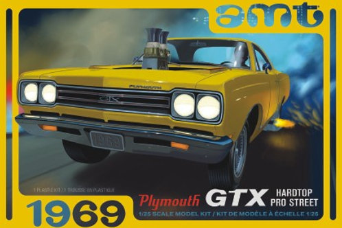 AMT 1969 Plymouth GTX Pro Street
