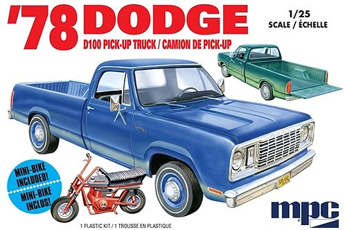 MPC 1978 Dodge D100 Long Bed Pickup