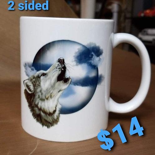Howling Wolf 11 oz. mug