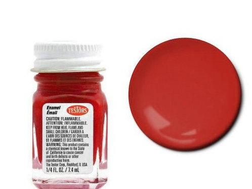 Testors Stop Light Red Enamel