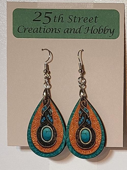 Western -longhorn earrings