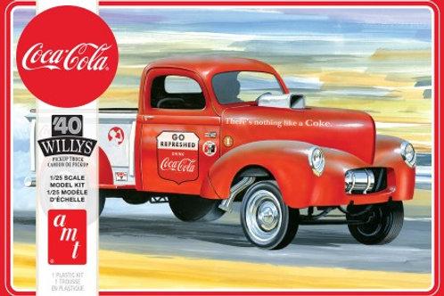 AMT 1940 Willys Gasser Pickup