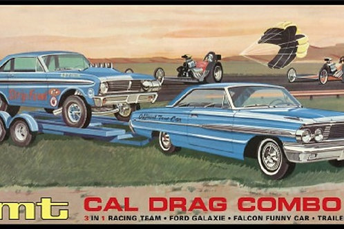 AMT 64 Ford Cal Drag Combo